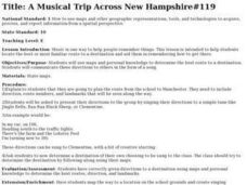 A Musical Trip Across New Hampshire Lesson Plan