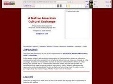A Native American Cultural Exchange Lesson Plan