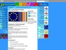 A New Flag for Europe Lesson Plan