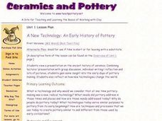 A New Technology: An Early History of Pottery Lesson Plan