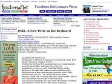 A New Twist on the Keyboard Lesson Plan