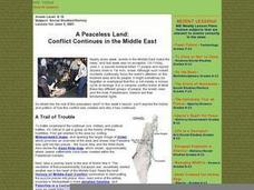 A Peaceless Land: Conflict Continues in the Middle East Lesson Plan