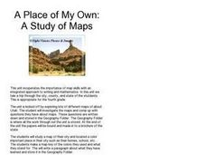 A Place of My Own: A Study of Maps Lesson Plan