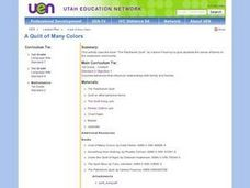 A Quilt of Many Colors Lesson Plan
