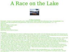 A Race on the Lake Lesson Plan