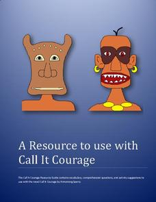 call it courage essay Read call it courage (the whole book it is short) answer call it courage study guide write final draft of persuasive essay on comp and lit.