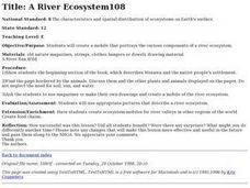 A River Ecosystem Lesson Plan