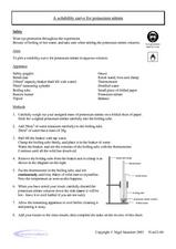 A Solubility Curve for Potassium Nitrate Worksheet