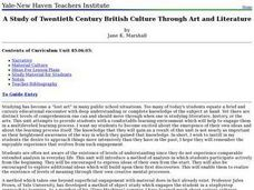 A Study of Twentieth Century British Culture through Art and Literature Lesson Plan