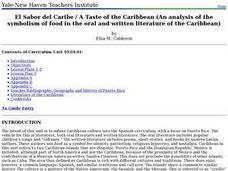 A Taste of the Caribbean Lesson Plan