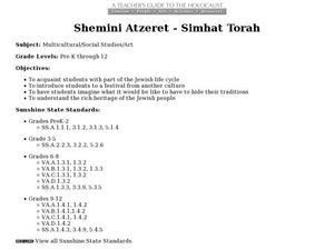 A Teacher's Guide to the Holocaust: Shemini Atzeret-Simhat Torah Lesson Plan