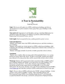 A Tour in Sustainability Lesson Plan