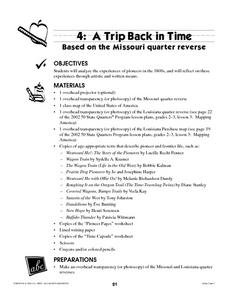 A Trip Back in Time Lesson Plan