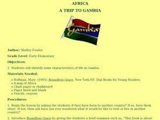 A TRIP TO GAMBIA Lesson Plan