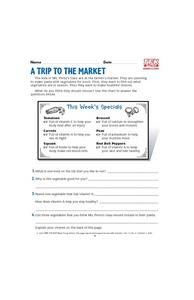 A Trip to the Market Lesson Plan