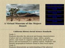 A Virtual Museum of the Mojave Desert Lesson Plan