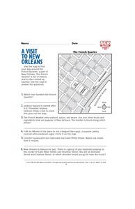 A Visit to New Orleans Lesson Plan