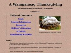 A Wampanoag Thanksgiving Lesson Plan