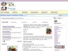 A Waste Not Picture Frame Lesson Plan