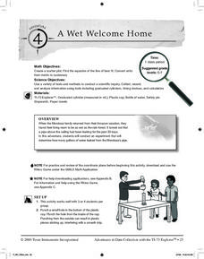 A Wet Welcome Home Lesson Plan