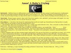 Aaaa! A Baby's Crying Lesson Plan