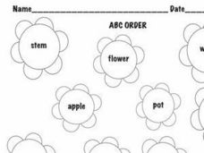 ABC Order Worksheet