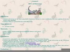 ABC's of Dinosaurs Lesson Plan