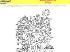 ABC Tree Worksheet