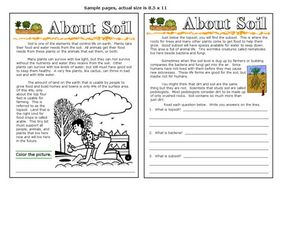 About Soil Worksheet