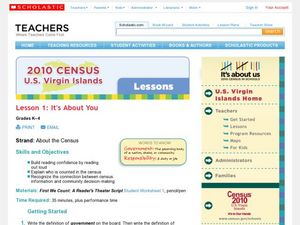 About the Census Lesson Plan