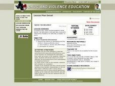Above the Influence Lesson Plan