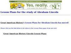 Abraham Lincoln: His Life, Speeches, and Writings Lesson Plan