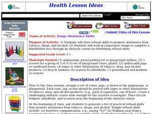 Abstaining from Drugs Lesson Plan