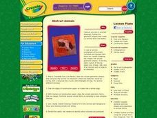 Abstract Animals Lesson Plan