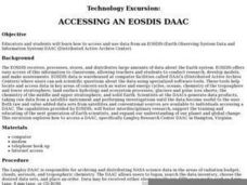 ACCESSING AN EOSDIS DAAC Lesson Plan