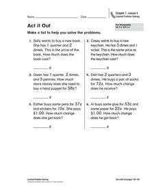 Act It Out Worksheet