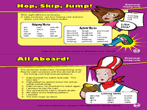 Action Packed Careers: Vocabulary Worksheet