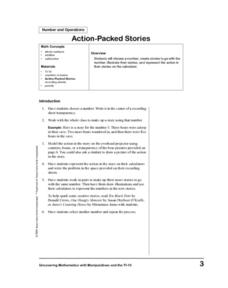 Action-Packed Stories Lesson Plan