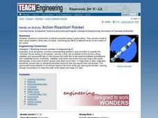 Action-Reaction! Rocket Lesson Plan