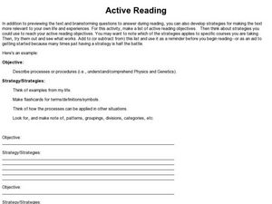 9th grade reading level sample