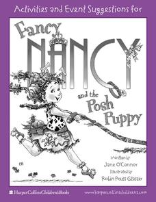 Activities for Fancy Nancy and the Posh Puppy Activities & Project