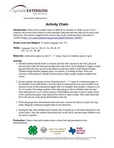 Activity Chain Lesson Plan