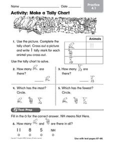 Activity: Make a Tally Chart: Practice Worksheet
