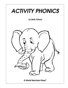 Activity Phonics Worksheet