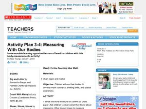 Activity Plan 3-4: Measuring With Our Bodies Lesson Plan
