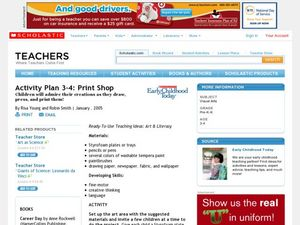 Activity Plan 3-4: Print Shop Lesson Plan