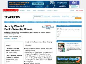 Activity Plan 5-6: Book-Character Homes Lesson Plan