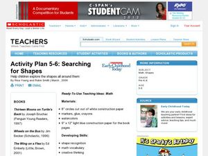 Activity Plan 5-6: Searching for Shapes Lesson Plan