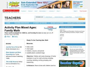Activity Plan Mixed Ages: Family Math Lesson Plan