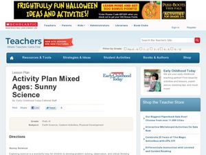 Activity Plan Mixed Ages: Sunny Science Lesson Plan